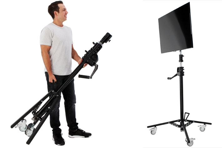 MSE debuts Panel Stand and C-Stand Rolling Bag at IBC 2018