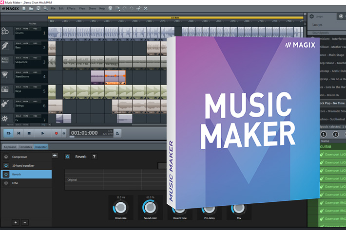 Music Maker: free DAW reaches 100,000 downloads