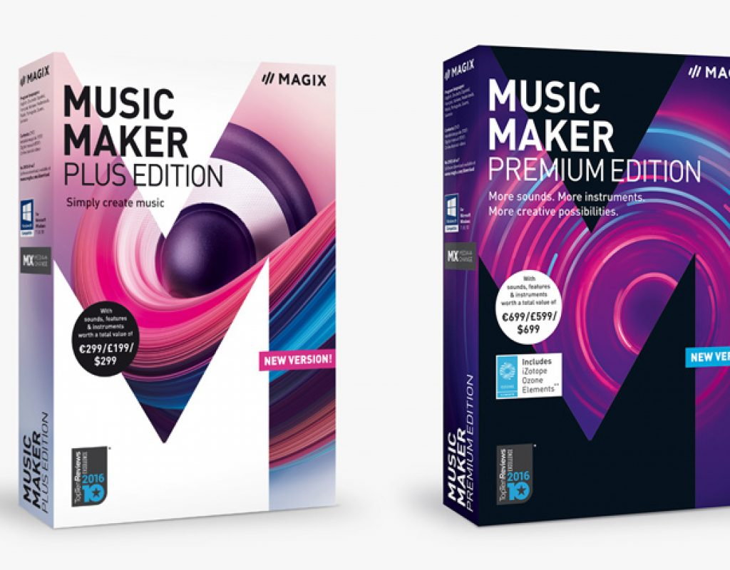 MAGIX Music Maker now fully customizable