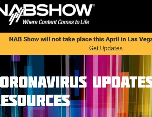 NAB Show 2020 cancelled… as expected