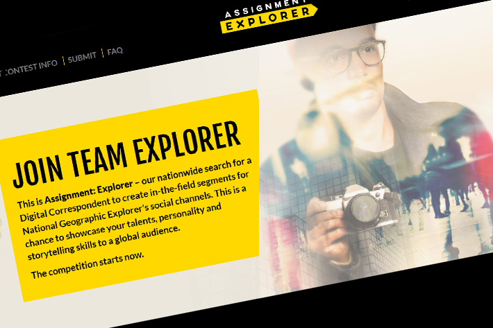 National Geographic wants you!
