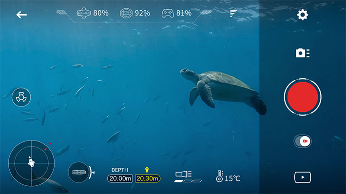 Navatics MITO: 4K drone for aquatic videography arrives in March