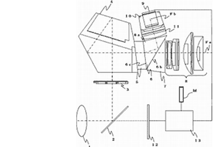 Canon hybrid viewfinder patent