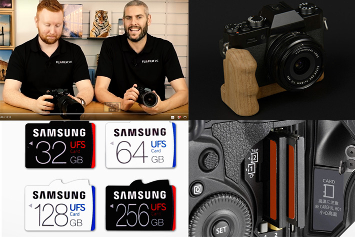Fujifilm X-T2 and professional video, Samsung and the universal card