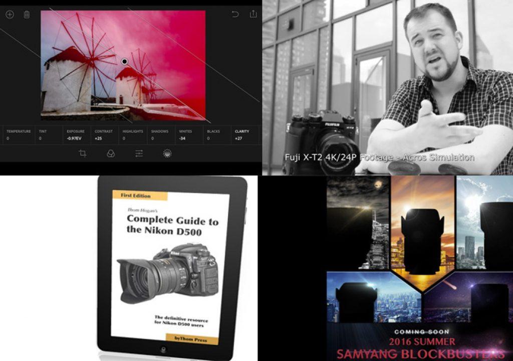 Fujifilm X-T2 will get a F-Log, Lightroom Mobile gets RAW