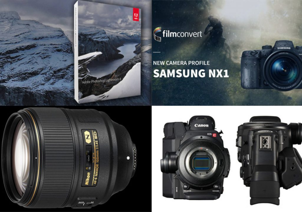 Samsung NX1 gets a camera profile, Nikon reveals 105mm f/1.4