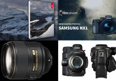 Samsung NX1 gets a camera profile, Nikon reveals a 105mm f/1.4