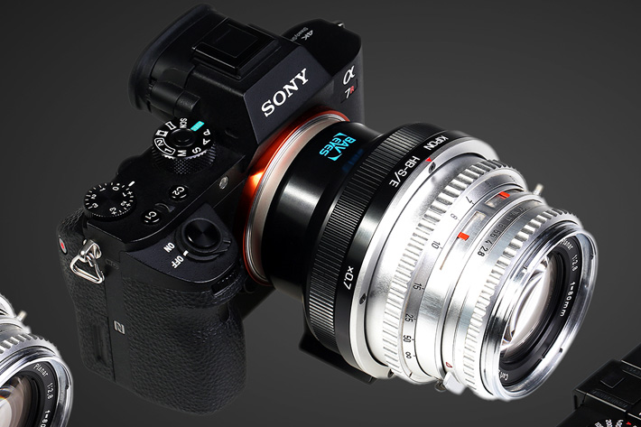 Hasselblad lenses for Sony and Leica