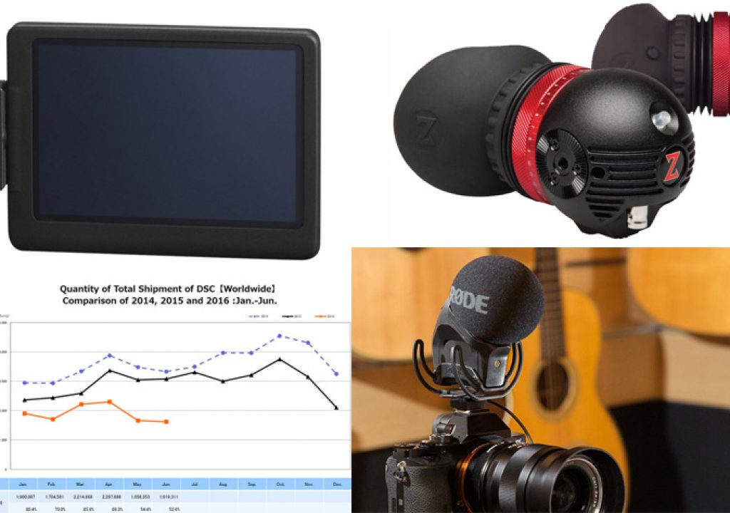 Upgrade the VideoMicPro, update the Gratical EVF