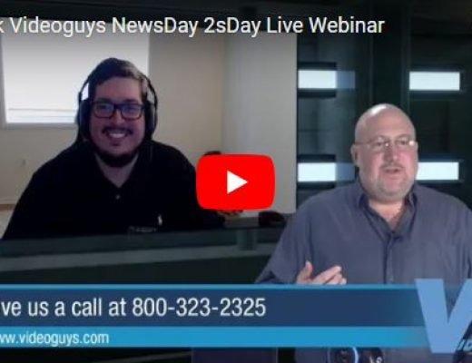 Videoguys Action-Packed Live Webinar on NewTek TriCaster Mini Advanced and more 8