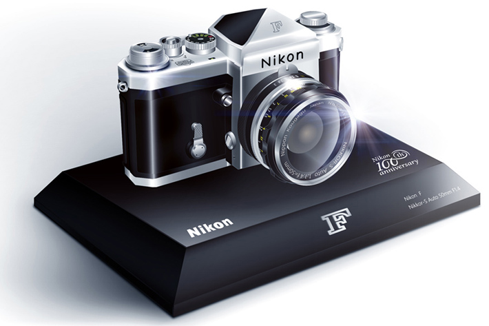 Nikon celebrates 100 years with commemorative models
