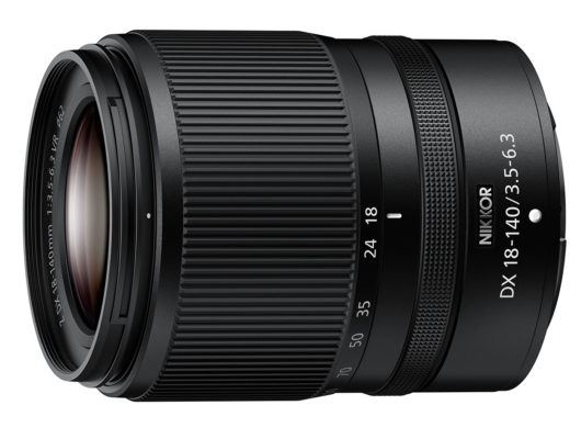 NIKKOR Z DX 18-140mm f/3.5-6.3 VR, a compact high-power zoom lens