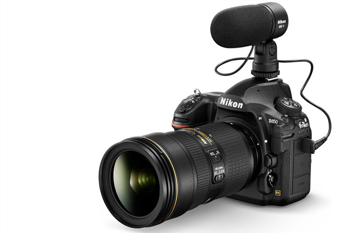 Nikon D850: 4K UHD, medium format quality and slide copier