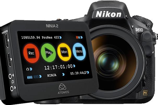 Nikon Improves DSLRs Workflow with Atomos 6