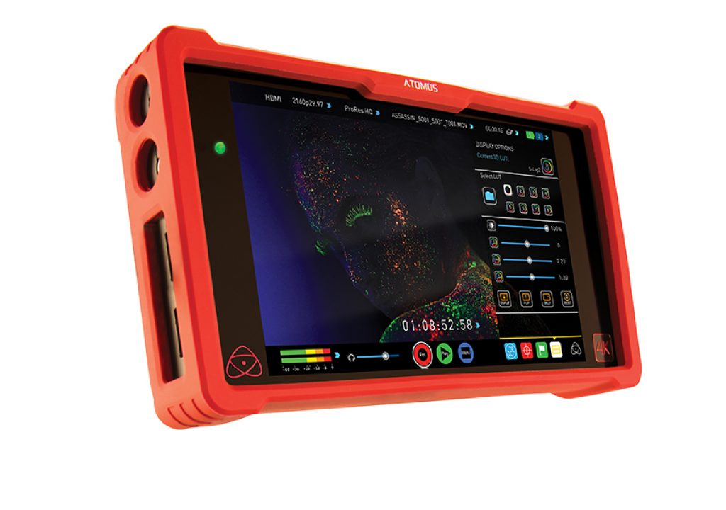 "The new Ninja Assassin from Atomos combines professional 4K/HD recording with 7"" 1920x1080 monitoring 1"