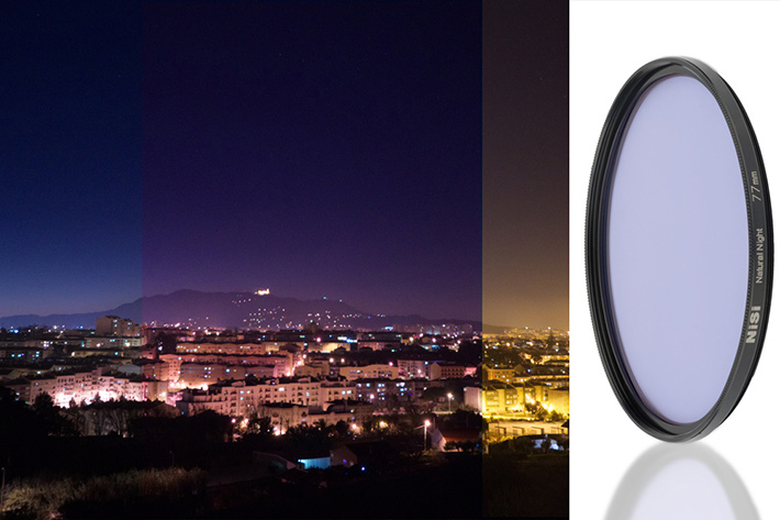 NiSi Natural Night filter, a light pollution reducer