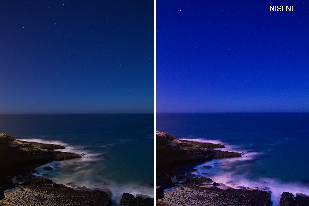 NiSi Natural Night filter, a light pollution reducer