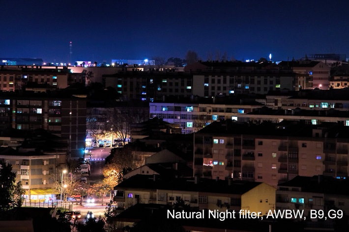 NiSi Natural Night filter for cityscapes and video