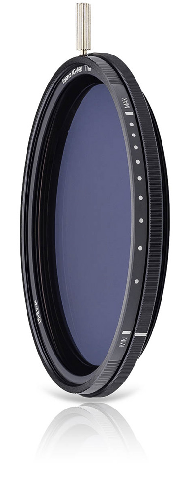 NiSi ND-Vario, a variable ND filter without the X