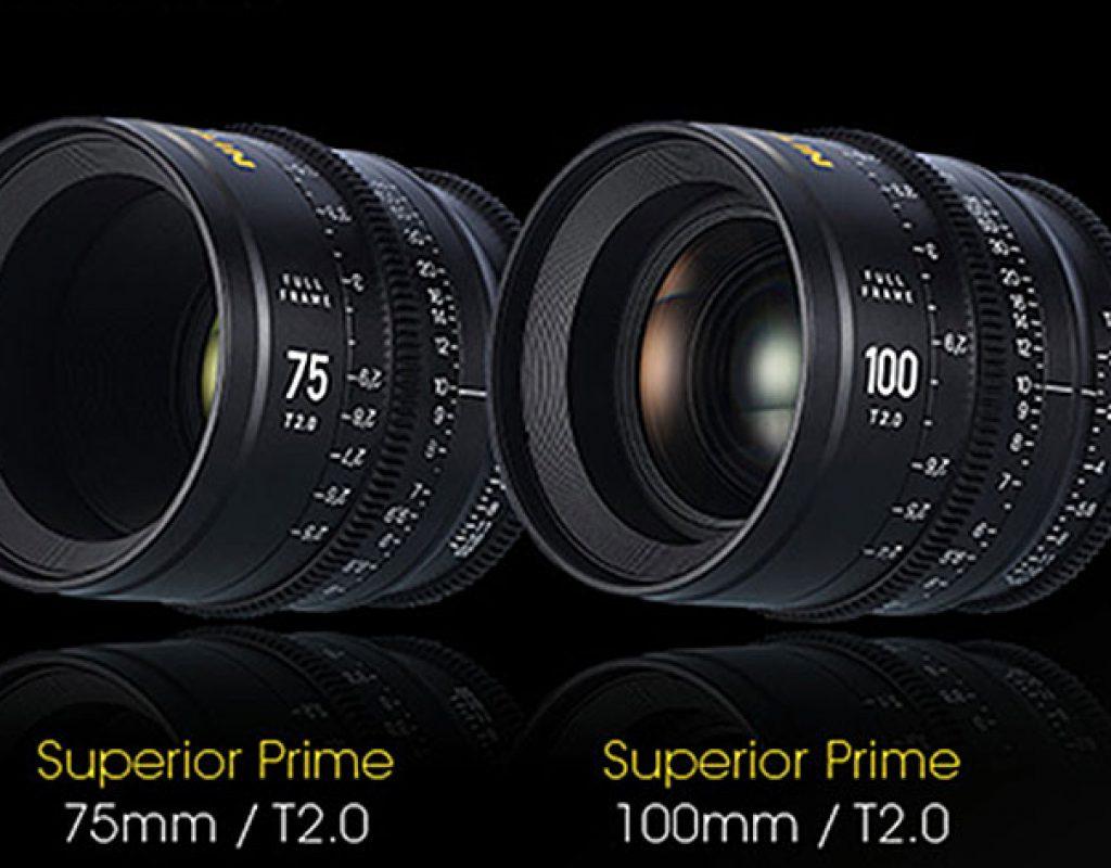 Nitecore releases a complete line of Cinema lenses