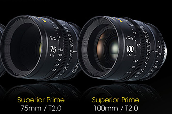 Nitecore releases a complete line of Cinema lenses