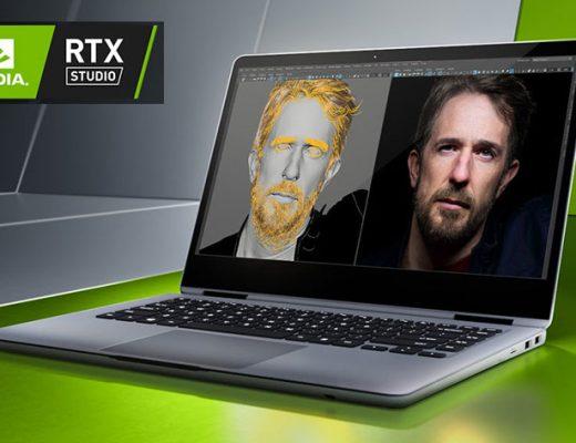 Ten new RTX Studio laptops for creative professionals