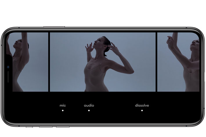 Nizo: an iPhone app to simplify the art of filmmaking