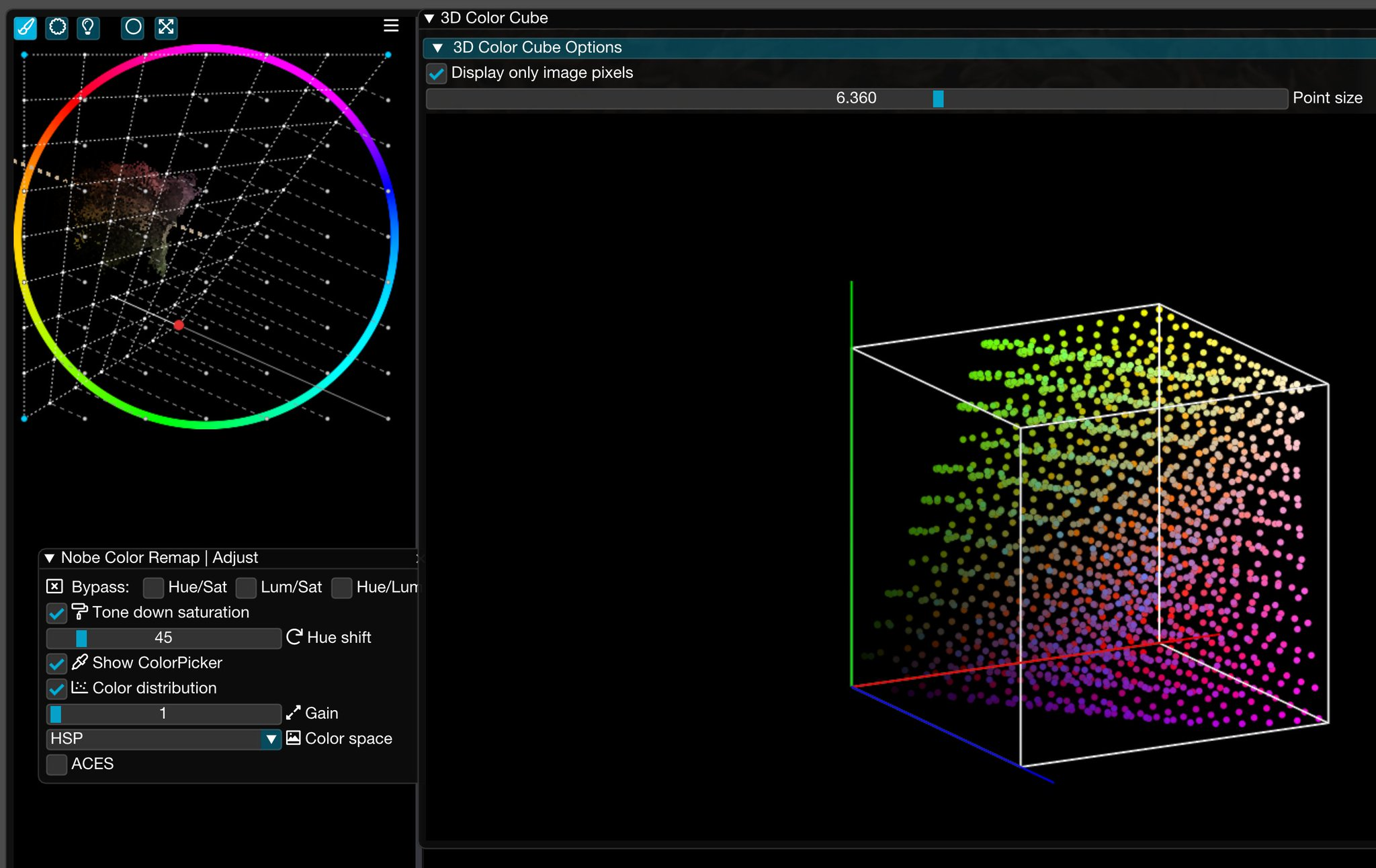 Nobe Color Remap for all your post-production tools. The original Color Warper 8