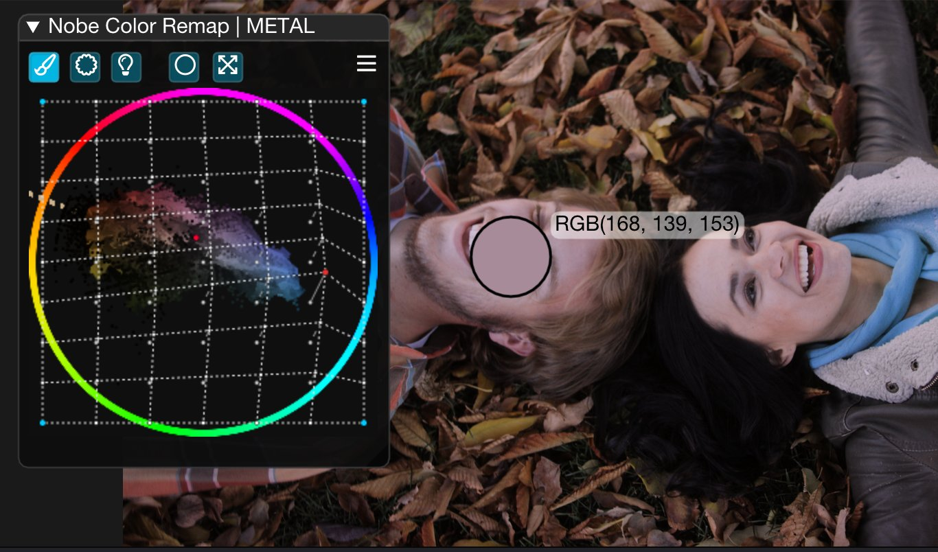 Nobe Color Remap for all your post-production tools. The original Color Warper 6