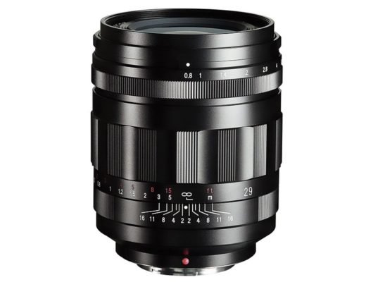 Super Nokton 29mm f/0.8 Aspherical: the world's fastest lens