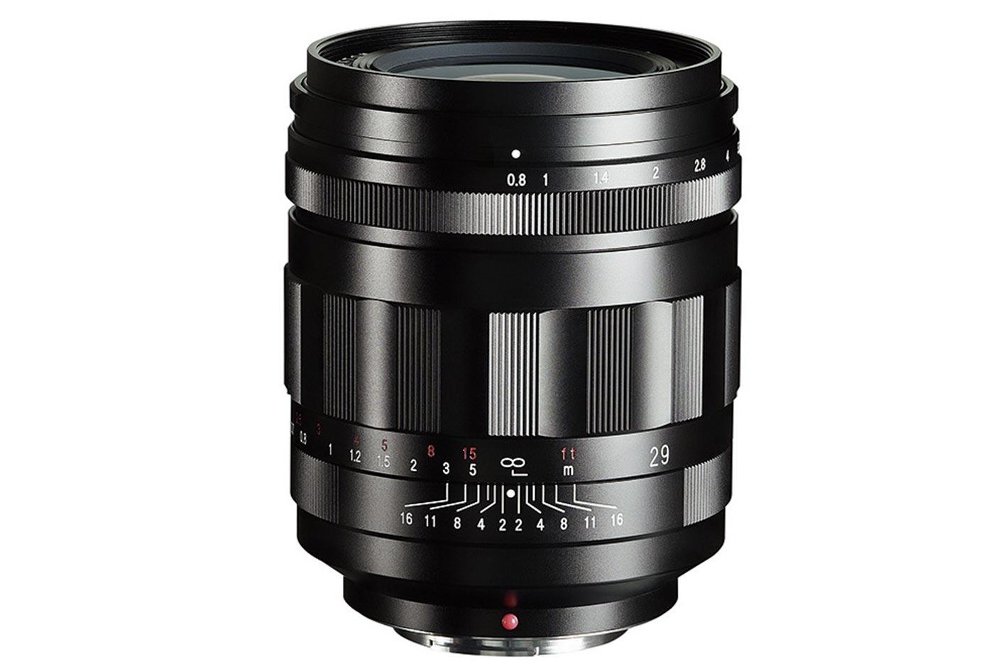 Super Nokton 29mm f/0.8 Aspherical: the world's fastest lens