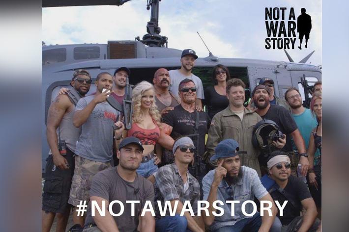 Not a War Story: world premiere in June