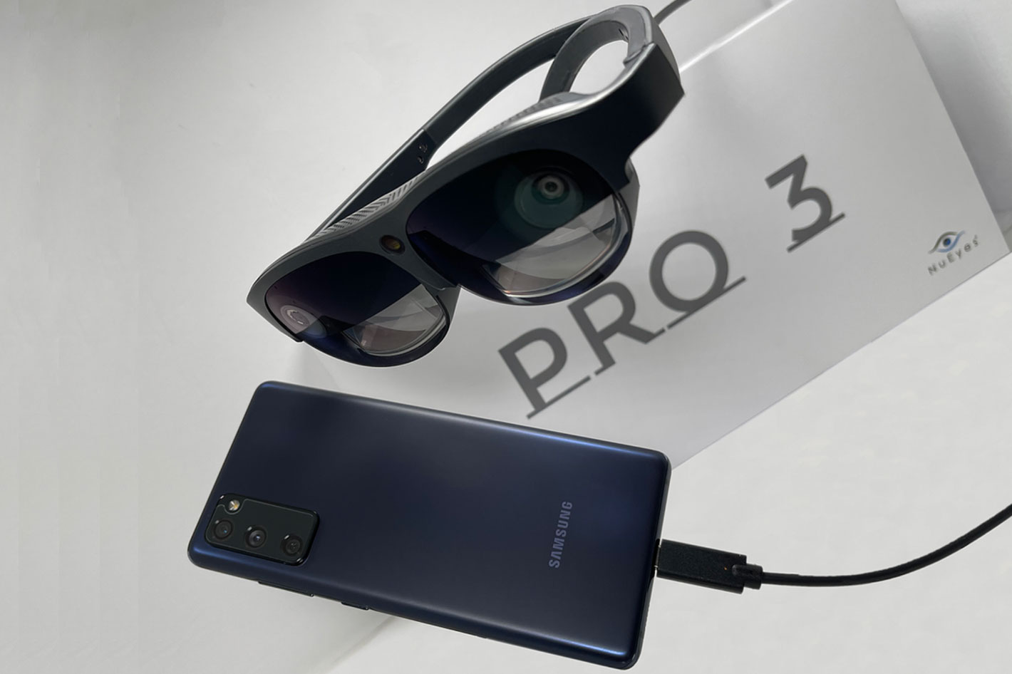 New Pro 3e smart glasses from NuEyes target entertainment