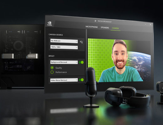 NVIDIA Broadcast 1.2: turn any room into a home studio