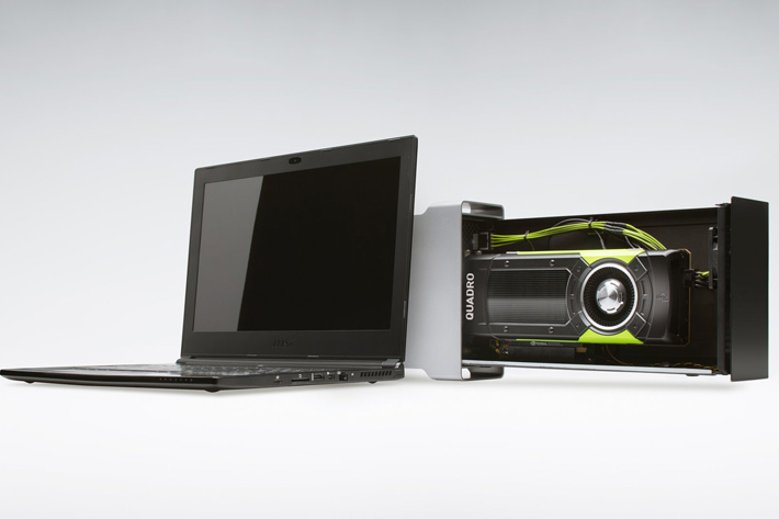 Video editing with a notebook, and a NVIDIA eGPU