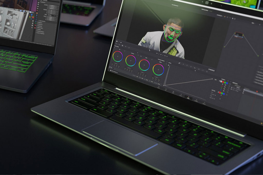 New NVIDIA Studio laptops for photographers and video editors