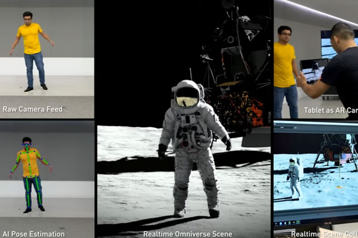 SIGGRAPH 2019: go to the Moon with NVIDIA RTX demo