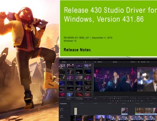 NVIDIA's new Studio Driver for DaVinciResolve and Cinema 4D