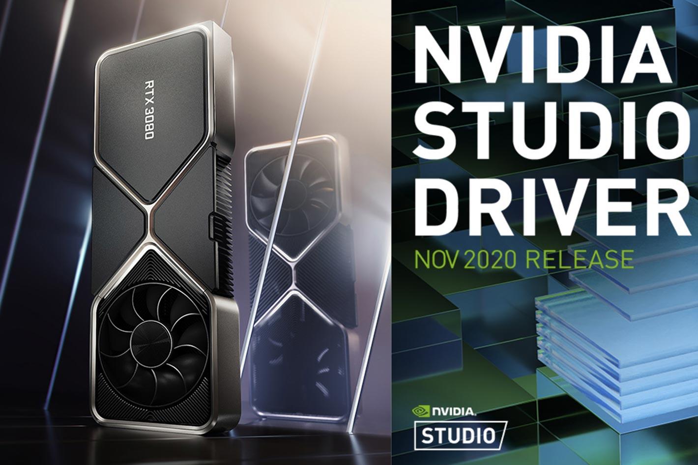 NVIDIA Studio Driver with DaVinci Resolve 17 updates