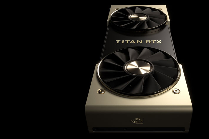 Nvidia TITAN RTX, the world's most powerful desktop GPU