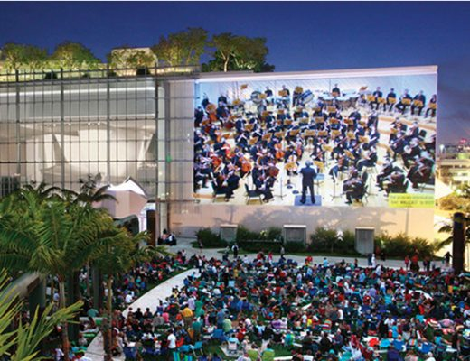 New World Symphony updates WALLCAST to 4K HDR with AJA solutions