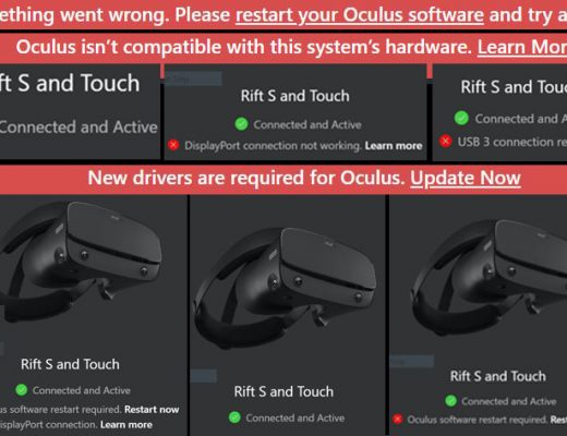 Oculus update bricked the Oculus Rift S: here is how to fix your VR headset