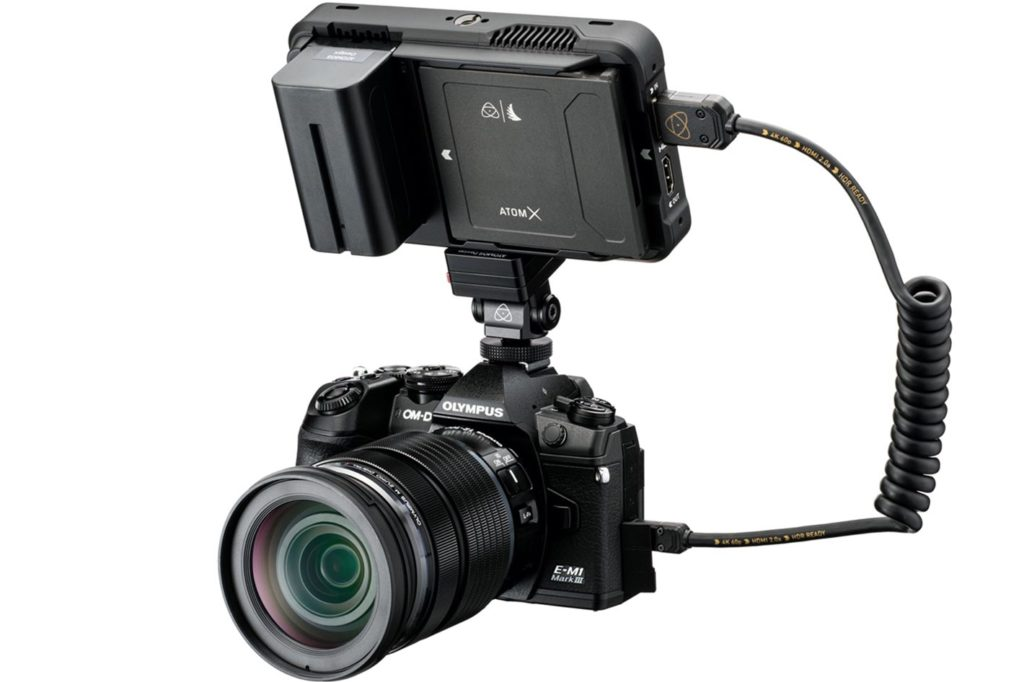 Atomos announces ProRes RAW for Olympus cameras 3