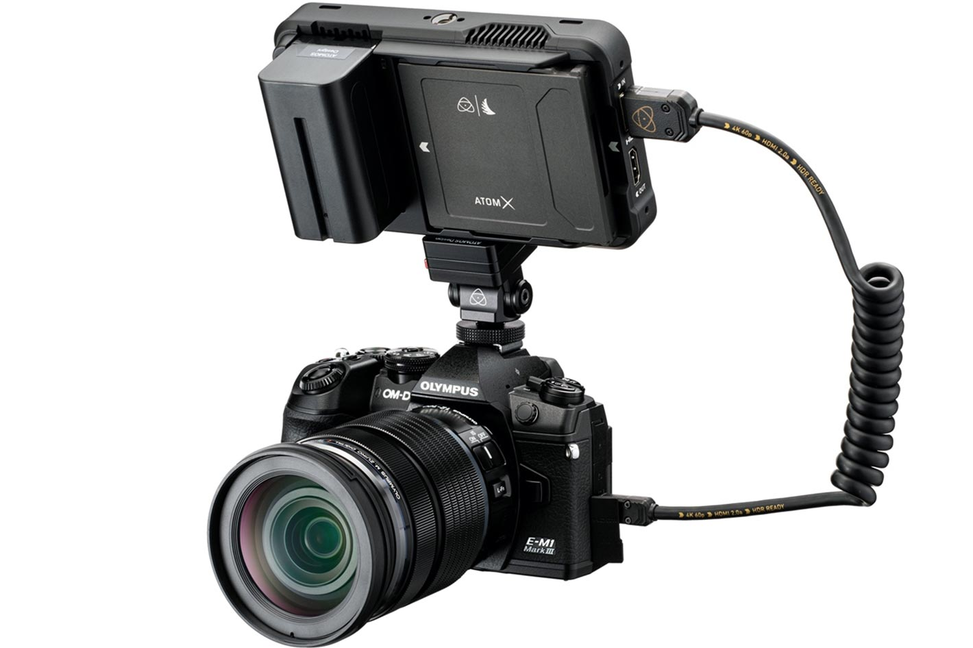 Atomos announces ProRes RAW for Olympus cameras 4