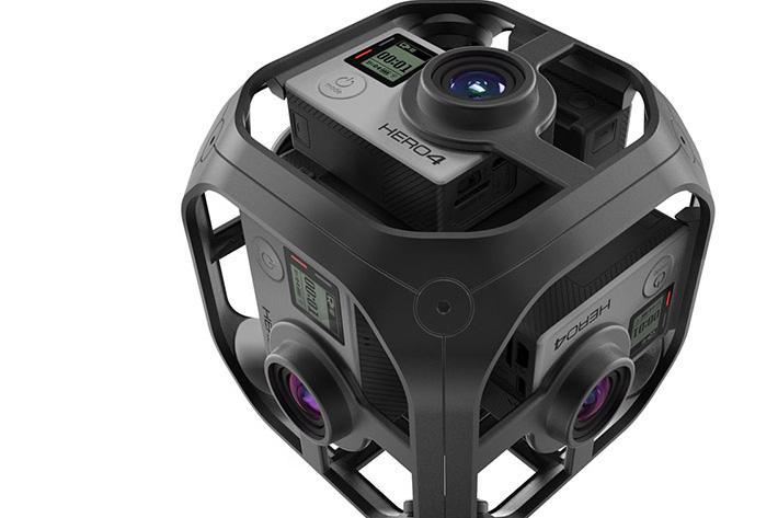 GoPro Omni, a six-camera VR rig