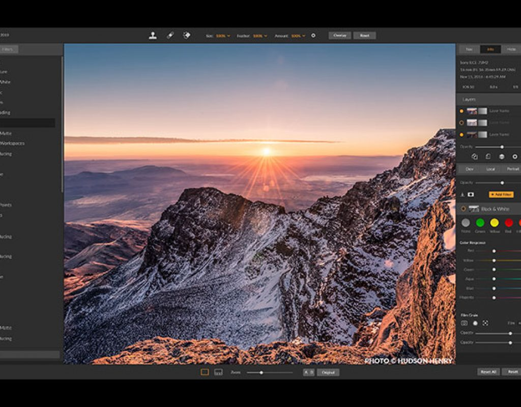 ON1 Photo RAW 2019: an invitation to migrate from Lightroom