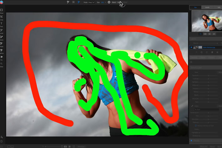 ON1 Photo RAW: new update introduces Quick Mask Tool