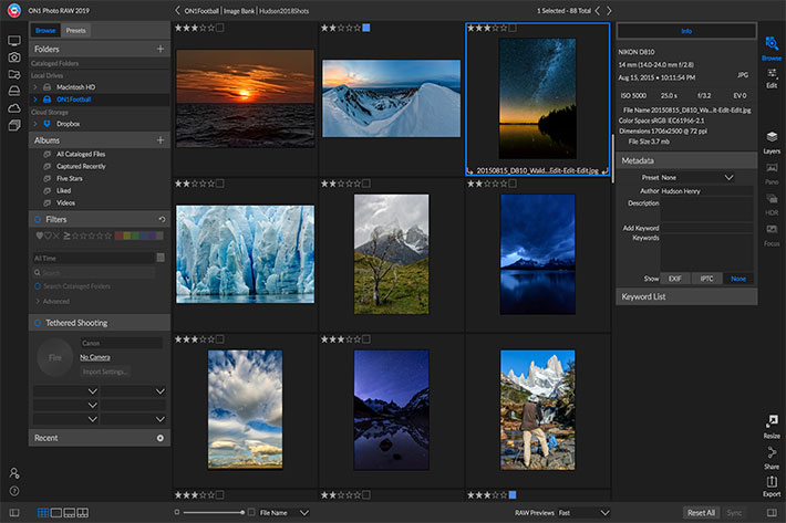 ON1 Photo RAW 2019 photo editor now available