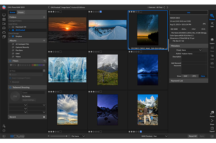 ON1 Photo RAW: free update in May brings new features