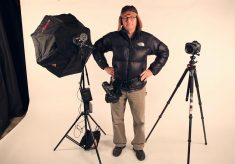 How to Shoot One Light Dramatic Portraits On Location By Yourself